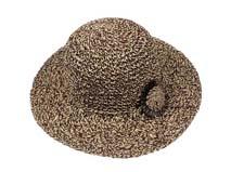 凯维帽业-新款时尚大边女士花朵遮阳草帽定做-CZ067