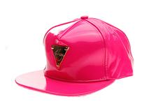 黑白视频体育直播-新款欧美简约纯色铁牌嘻哈街舞平板帽定做-PP059