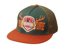 凯维帽业-新款春夏透气撞色拼接贴布绣平沿棒球网帽定做-PM070