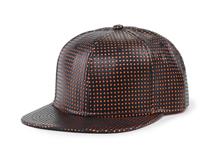 凯维帽业-2015春夏新款简约波点嘻哈街舞平沿帽定做-PP078