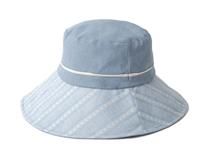 凯维帽业-简约拼色户外遮阳大边渔夫帽 春夏 女款 定做-YM077