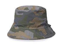 凯维帽业-迷彩格子户外遮阳桶帽 渔夫边帽 春夏订做-YM085