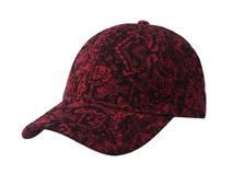 凯维帽业-2015新款粗线绣花六页时装棒球帽  设计款 时尚潮流定做 -BM077