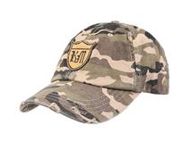 凯维帽业-洗水做旧贴布绣花 六页迷彩棒球帽 春夏 男女款定做-BM080