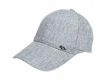 黑白视频体育直播-纯色简约六页鸭舌帽 棒球帽 春夏 男女款 定制-BM085