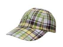 凯维帽业-时尚简约格子小乌龟儿童 女士春夏棒球帽 鸭舌帽订制 -BM098