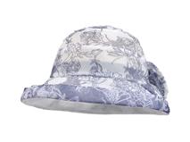 凯维帽业-女士蕾丝拼接印花户外遮阳渔夫帽 边帽生产订做 春夏-YT106