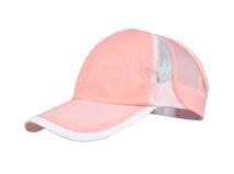 凯维帽业-新款春夏透气拼接户外运动鸭舌帽 空顶帽广州订做 女款-KT026