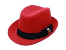 凯维帽业-女士时尚定型礼帽定做-DW032
