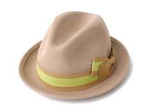 凯维帽业-100%羊毛蝴蝶结定型礼帽定做 -DW042