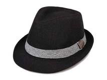 凯维帽业-简约纯色爵士帽定做-DZ029