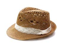 凯维帽业-韩版时尚潮流蕾丝草编定型帽 广州加工定做定制 镂空 -CZ076