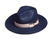 凯维帽业-帽厂专业订做纯色大檐定型时装草帽 女士 春夏遮阳-CZ079