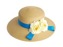 凯维帽业-纯色简约盛放花朵女士夏季草帽 户外遮阳帽 广州帽厂 -CZ095