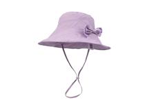 凯维帽业-纯色简约小清新款蝴蝶结女士 女童户外渔夫帽 桶帽 -YM117