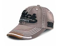 凯维帽业-广州专业ODM贴牌定做加工高端牛仔棒球帽 贴布绣 夏季-BM108