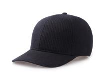 凯维帽业-秋冬纯色简约条纹六页棒球帽 外贸OEM出口贴牌订制-BM151