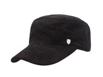 凯维帽业-简约纯色平顶军帽生产加工定制订做 老人帽 外贸出口 -JM047