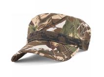 黑白视频体育直播-高端树叶迷彩平顶军帽 男女款 夏季户外战术帽订制加工-JM048