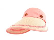 凯维帽业-2015夏季新款韩版草编两用遮阳帽 空顶帽订制加工 韩版-CZ106