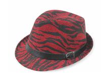 凯维帽业-帽厂专业贴牌ODM加工订做草编定型帽 皮带 印花-CZ107