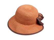 凯维帽业-简约蝴蝶结女士草帽 夏季遮阳 21年制帽经验 广州帽厂-CZ109