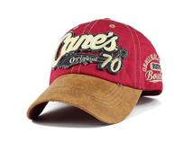 凯维帽业-撞色拼接贴布绣花字母棒球帽 夏季新款 韩版 外贸出口-BM160