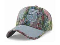凯维帽业-蕾丝拼接绣花字母新款六页时装棒球帽定制加工 新款 -BT148
