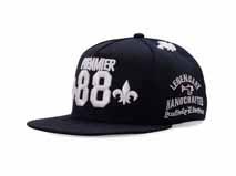 凯维帽业-广东广州ODM贴牌定做3D绣花街舞嘻哈平沿帽-PJ129
