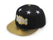 凯维帽业-小清新款星星字母绣花夏季遮阳平板帽 鸭舌帽定制 新款-PM105