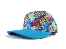 凯维帽业-画笔涂鸦驳接新款棒球帽 外贸OEM出口订制加工 春夏-PM118