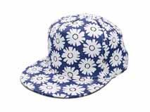 黑白视频体育直播-广州帽厂订制花朵印花春夏平额嘻哈帽 儿童 成人款-PM124