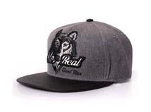 黑白视频体育直播-新款狼头绣花字母平沿棒球帽 嘻哈街舞帽加工订制 -PM145