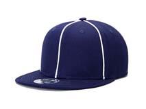 凯维帽业-2015新款蓝色简约平板帽 外贸出口贴牌加工订制 定做 -PM149