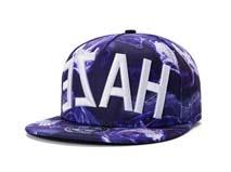 凯维帽业-21年实力工厂订制加工炫彩3D绣花字母高端嘻哈平额帽-PM164