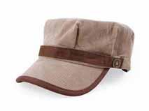 凯维帽业-男女款简约遮阳平顶军帽 外贸OEM加工贴牌订制定做 -JM065