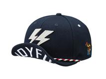 凯维帽业-翻舌贴布绣花平板嘻哈街舞帽OEM出口订制 字母-PM192