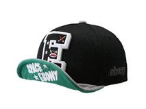 凯维帽业-3D绣花新款翻舌高端平沿嘻哈帽 外贸出口加工订制-PM194