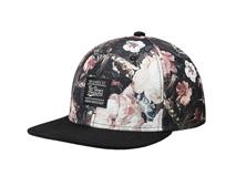 凯维帽业-印花花朵平沿嘻哈帽OEM订制加工 民族风 新款 春夏 -PM198