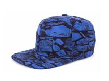 凯维帽业-抽象几何新款嘻哈平沿帽 春夏 外贸出口OEM加工订制-PM202
