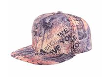 凯维帽业-外贸出口专业订制男女款平额嘻哈街舞棒球帽 2015新款-PT121