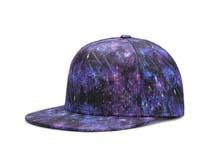 凯维帽业-外贸专业OEM贴牌出口订制炫彩高端嘻哈平沿街舞帽-PT142