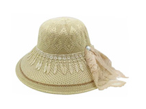 凯维帽业-外贸出口加工生产2015新款春夏遮阳帽 草帽 田园风-CZ126