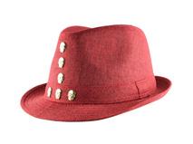 凯维帽业-纯色骷髅头柳丁草编遮阳定型帽 新款 外贸专业出口加工-CZ133