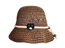 凯维帽业-新款草编镂空透气夏季遮阳帽 外贸加工出口订制-CZ138