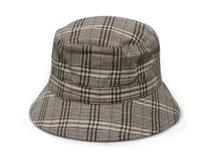 凯维帽业-外贸加工出口订制简约格子夏季遮阳渔夫边帽 中老年人-YM131