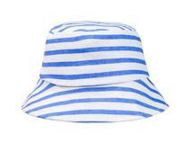 凯维帽业-全棉经典条纹春夏遮阳桶帽 渔夫边帽