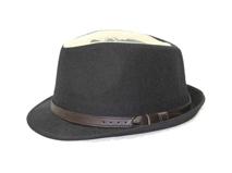 凯维帽业-高端纯色频带骷髅头印花DT062