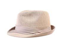 凯维帽业-米黄色新款韩版定型礼帽 广州工厂ODM订制