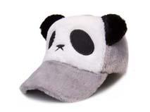 凯维帽业-儿童冬天保暖熊猫棒球帽定做RH185